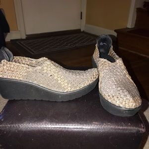 Steven by Steve Madden Bronze Comfort Wedge